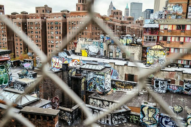 Graffiti Art now Urban Art can be seen in New York City from the Manhattan Bridge. what I show in Urban Photography