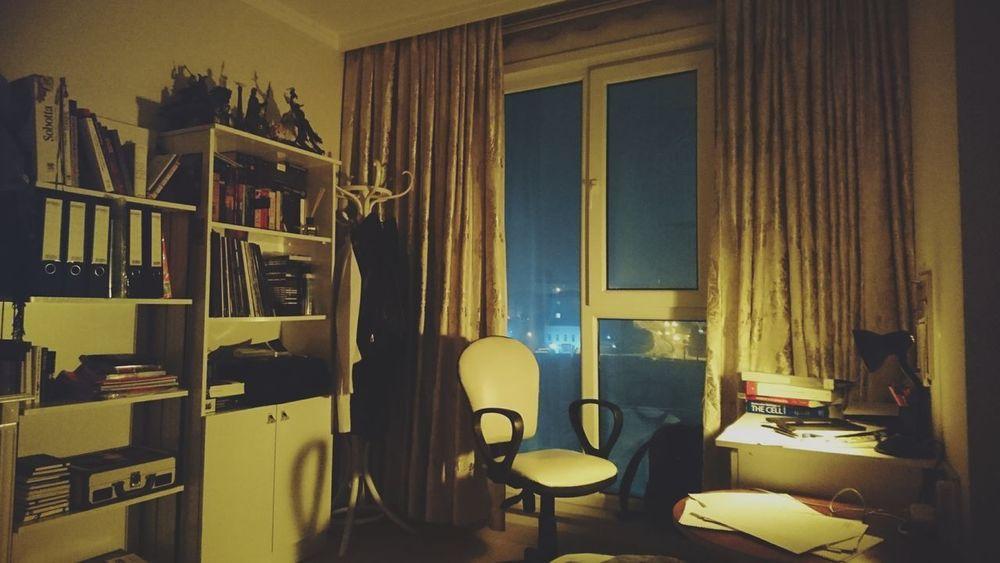 Chair No People Indoors  Window Latenight Study First Eyeem Photo