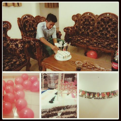 """ happy birthday sayang """