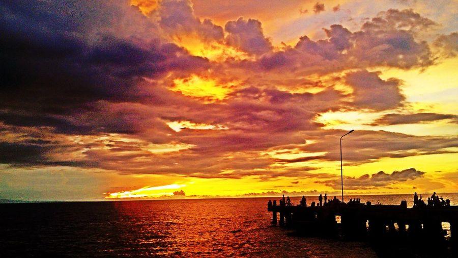 Sunset Silhouettes Sun_collection Balingasag Misamis Oriental