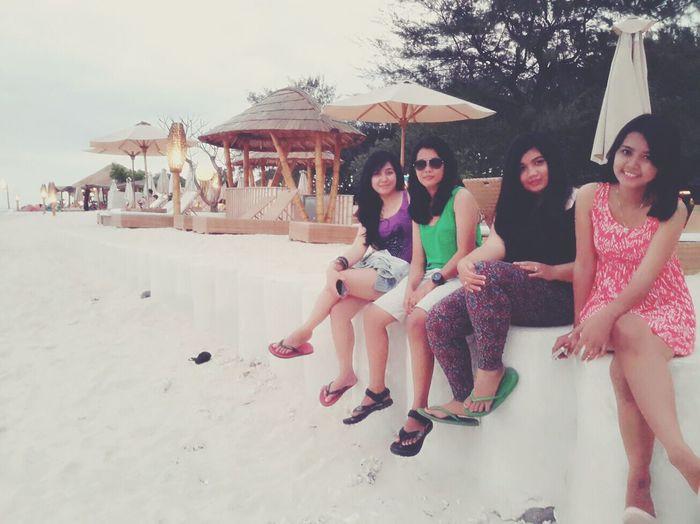 My Friends at Gili Trawangan
