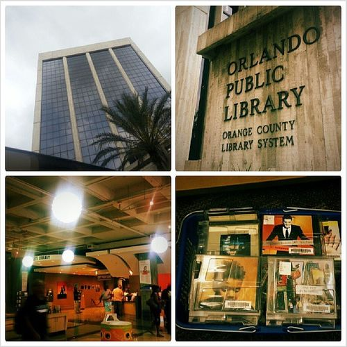 I may be bias but I think we have the best library in the U.S. when it comes to finding music Orlandopubliclibrary Downtown Music Myloveformusic podcasting *The building photo, upper left hand corner IS NOT our library.