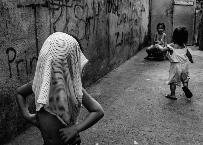 Streetphotography Real People Children Eyeem Philippines Childhood People Street The Human Condition Everybodystreet Philippines EyeEm Lucena Street Life Street Photography Streetphoto_bw B&w Street Photography B&w Blackandwhite The Street Photographer - 2017 EyeEm Awards People And Places Black And White Friday Black And White Friday