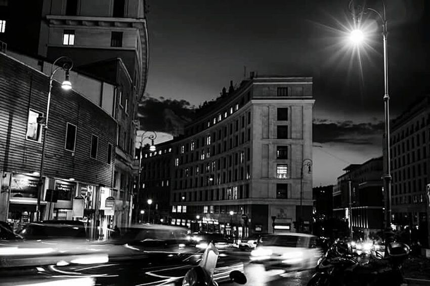 Q This is the world we live today, quietness vs quickness. Quietness Quickness Speed Nightlife Streetphotography Driving Home FUJIFILM X100S EternalCity Rome Italy