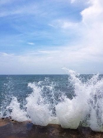 Splash. EyeEm Best Shots EyeEm Nature Lover IPhone Beach