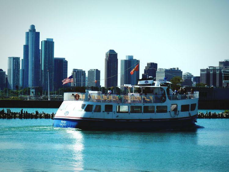 Chicago Illinois USA Boat Ride