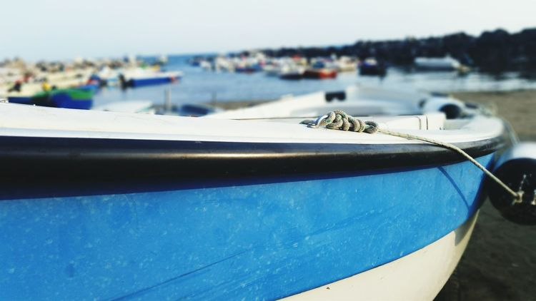Macrophotography Summer Vacations Ocean Nautical Vessel Mode Of Transport Transportation Travel Water Fishing Boat Shore Coastline Flying Sky Day Non-urban Scene Focus On Foreground Salerno♡ tranquility Boat Sea Tourism First Eyeem Photo