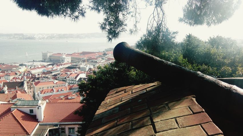 Gun Cannons Cannon Castle Cuff Canyon Canzone Canzona Tent Pole Castle Walls Castelosdeportugal Travel Photography Lisbon Castelo Lisboa Lisbona Lisbonne Walking On The Wall Portugal Castelo De São Jorge View From The Castle View From The Wall Castle View  City Landscape City View