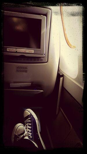 Got an upgrade to Business class on an Emirates flight to Dubai! good stuff! ^.^
