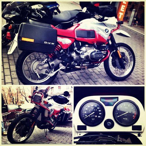 BMW R/100 GS PARIS DAKAR #joyasAparcadas Motorcycles Joyas Aparcadas Bmw