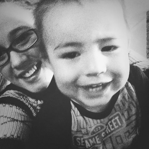 Love this little boy more then anything in this world ? Nephew  Godson Lovehim Handsomeboy ?