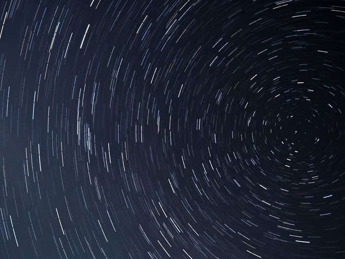 Backgrounds Star Trail Astronomy Star - Space No People Sky Nature Star Field Concentric Space Night Galaxy Long Exposure Outdoors Motion