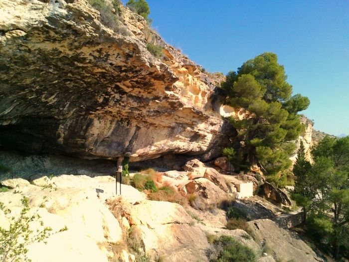 Cueva Negra, Black Cave, old roman sanctuary in the spanish mountains of Fortuna, Murcia. Caves SPAIN Sightseeing Amazing Place Visitspain Mystic Mountain Mystic Thisismurcia