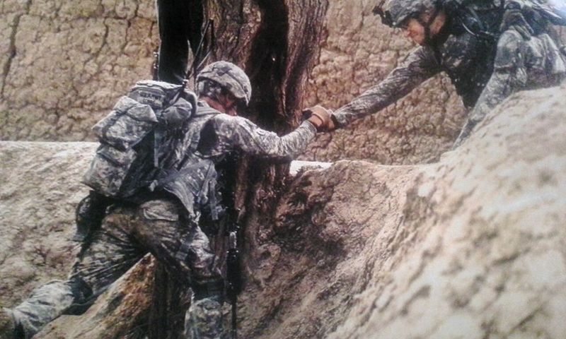 Us Military A Helping Hand Afganistan War