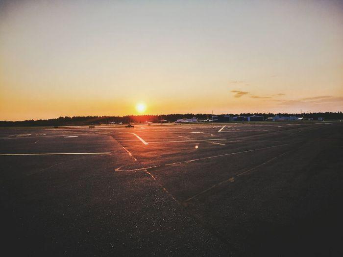 Beatiful morning at Efhk Sunrise The Essence Of Summer- 2016 EyeEm Awards Airport