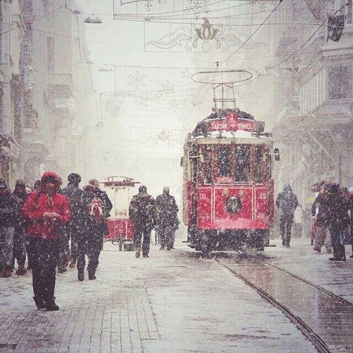 Snowfall !