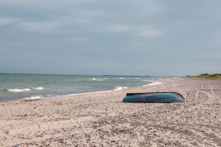 Boats⛵️ Latvia Latvija Beach Beauty In Nature Boat Cloud - Sky Day Horizon Horizon Over Water Land Motion Nature Nautical Vessel No People Outdoors Sand Scenics - Nature Sea Sky Tranquil Scene Tranquility Transportation Ventspils Water