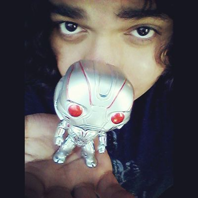 This little guy is so adorably evil!! Funkopop Ultronprime Selfie Nerd Comics Ultron Avengers Ageogultron Mcu Cute Bobblehead Inlove Manchild Adorable Collection Collector Disney Marvelentertainment Tcb_flyupandaway Obsessed