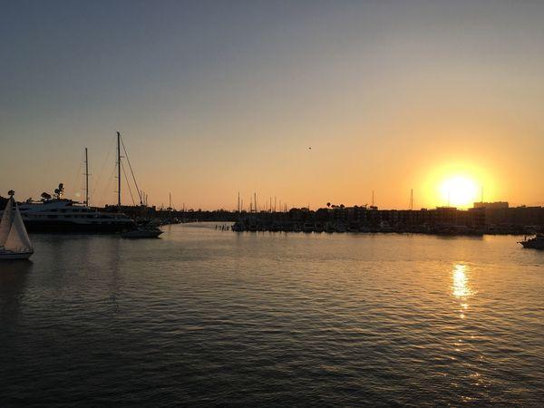 The Sunset, The Marina, The Life! Marina Del Rey California Sunset Cruise  Beautiful Evening