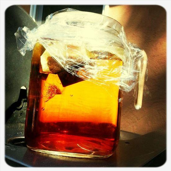 Good Morning iced tea!!!