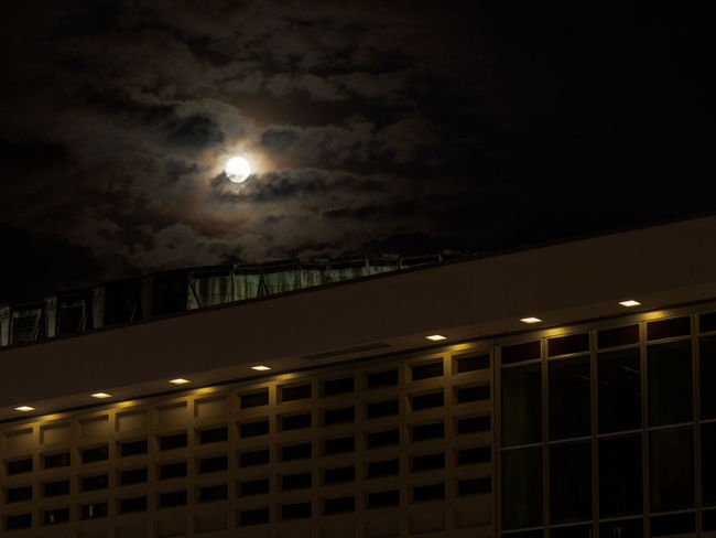 Moon and clouds above Dresden Concert Hall Dresden Concert Hall Dresden Altstadt Night Sky Moon Illuminated Architecture No People Low Angle View Cloud - Sky Building Exterior Nature Built Structure Full Moon Moonlight Outdoors Railing City Building Glowing Space Lighting Equipment