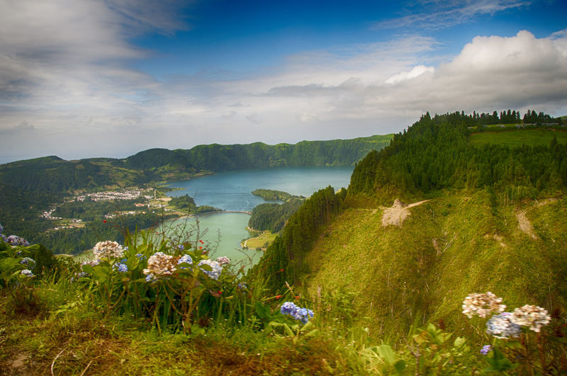 Azores Beauty In Nature Citadel Holiday Lagos Das Sete Lagos Das Sete Cidades Lake Lakeshore Mountain Nature Outdoors Scenics Water
