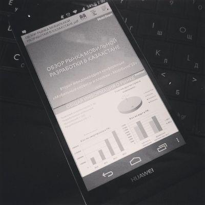 Завтра MobiEvent2013 - готовлюсь к выступлению с обзором рынка мобильной разработки в Казахстане.