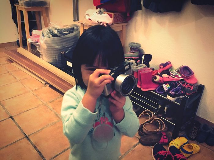 My Daughter Dylan with her Lomography