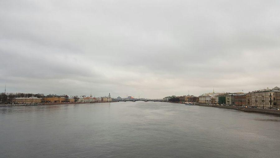 Saint-Petersburg Cloud - Sky Bridge Sky City Cityscape Urban Skyline Water Architecture No People Dramatic Sky Dramatic City Dramatic Spb Water Surface Spb Spb20170403 First Eyeem Photo