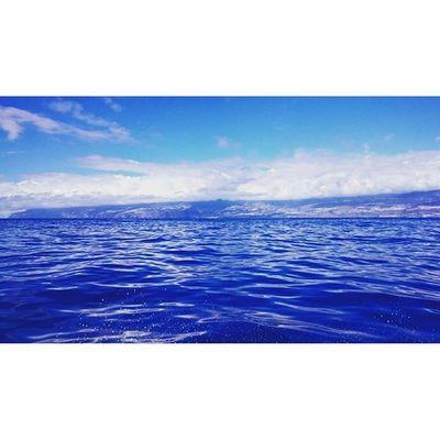 Atlantic Islabonita Laislabonita LaPalma Deepbluesea Ocean Ocean View Boattrip Dronephotography Blue