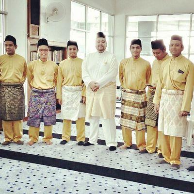 The Dulang Guys, my brother's solemnization ceremony Akadnikah Shahrizal &Ayu