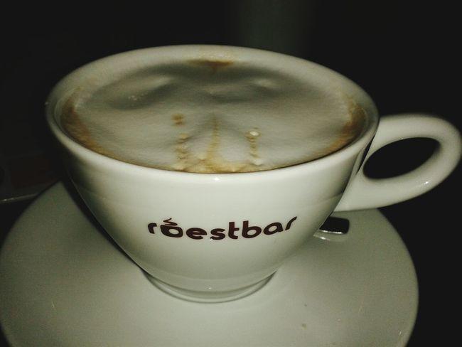 Milchkaffee.