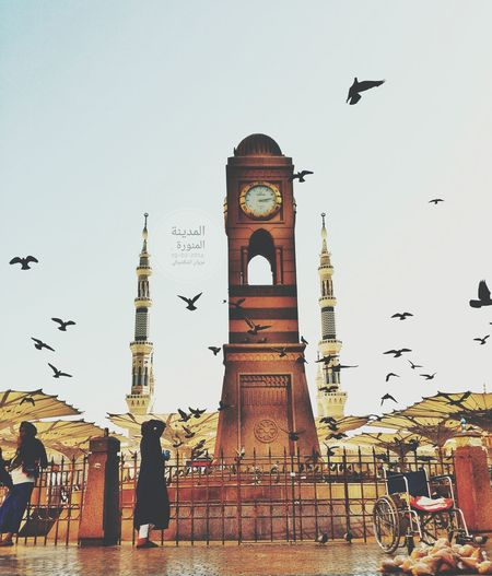 My Year My View KSA Saudi Arabia Almadinah POV Architecture Clock Tower Hanging Out From My Point Of View Memories