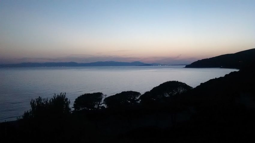 Tramonto sul mare. Verso villasimius Tranquil Scene Beauty In Nature Sunset No People Landscape Tranquility Horizon Over Water Beach Silhouette Nature Sea Silence Moment Summer2017🌞 Relaxtime😆 Friend ✌