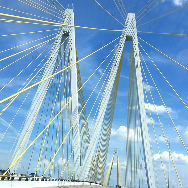 Roadtrip Check This Out Houston Texas Bridges Architecture Taking Photos Samsungphotography Highways&Freeways Coolshot Coolclouds