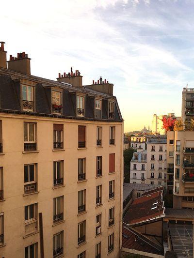 Sacre Coeur Montmatre Paris Sunset Sky Skylovers Magic Hour