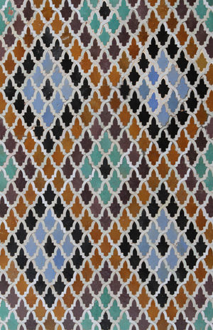 Abstract Backgrounds Brown Close-up Detail Geometric Shape No People Outdoors Part Of Pattern Textured  Tiles Tiles Of Morocco