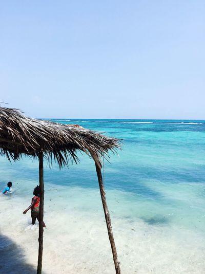 View During Lunch, Jamaica. Sea Beach Water Jamaica Children View