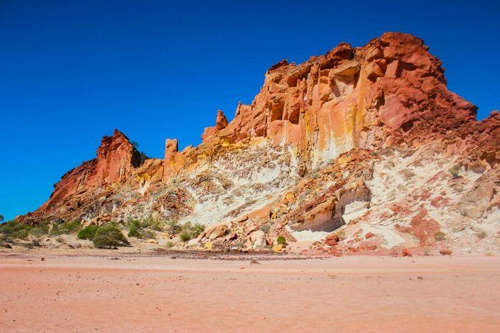 Rainbow Rock Australia Eye4photography  EyeEm Nature Lover Taking Photos Desert Beauty
