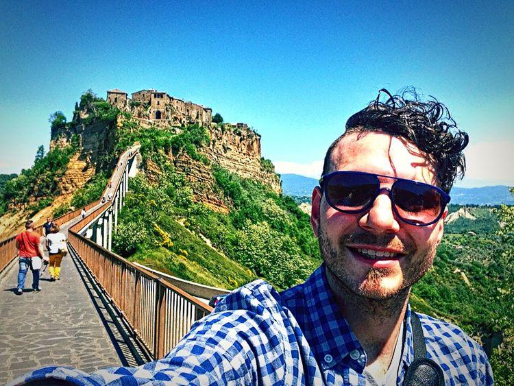 Selfie Lazio Civitadibagnoregio That's Me Follow Me On Instagram Enjoying Life Civita Paesaggio Landscape