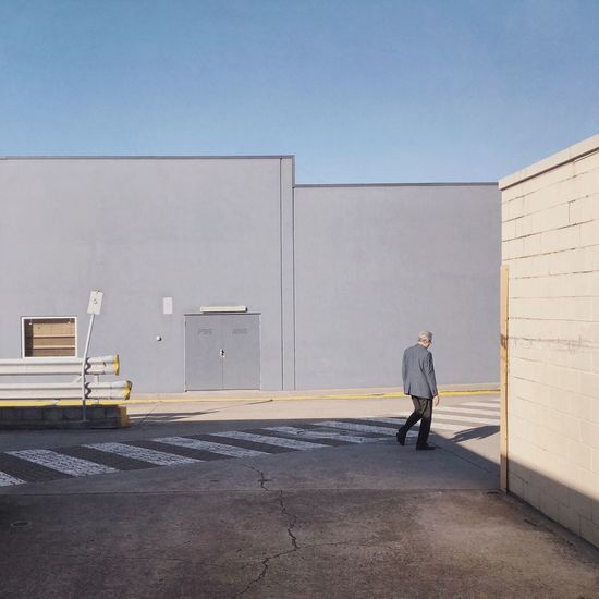 Full Length Men Architecture One Person Building Exterior Sky Built Structure The Street Photographer - 2018 EyeEm Awards