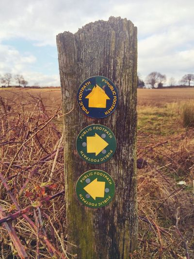 Country walks Explore Walk Countryside Country Life Derbyshire Sign Arrows Direction This Way Which Way Hike Rambling Walking Outside Outdoors Sign Post Discovering Directions Left Right Up Green Yellow Paint The Town Yellow