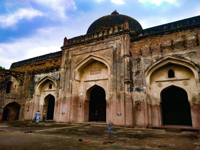 Arch Architecture Built Structure Sky Day Low Angle View Outdoors Building Exterior No People Ancient Civilization History Old Ancient KhairUlManazil Delhi Namaaz