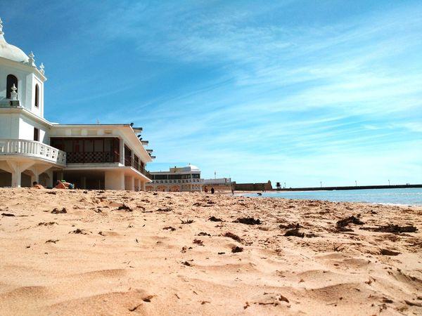 Andalucía Water Nature Landscape Outdoors Beach Cadiz Caleta Beautiful Landscape Sun Sea