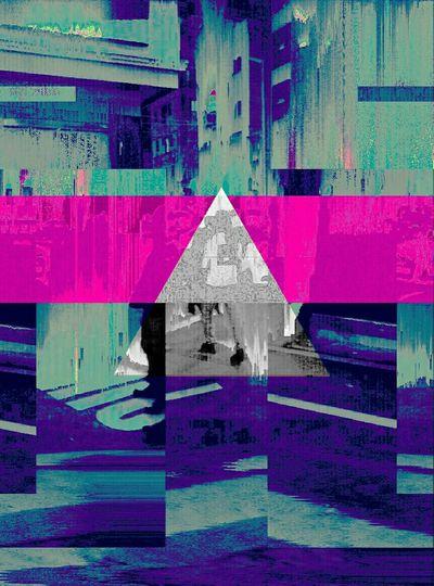 City Architecture Blue Psychedelic Databending Glitch Art Trippyart Glitchart Digitalart  Digitalart  Databend Glitch Surreal Digital Art Surrealart Psychedelicart Psychedelic_colors Trip Trippy Trippy Art Pop Art Aberration Multi Colored Cyberpunk Cyberpunk Art Triangle