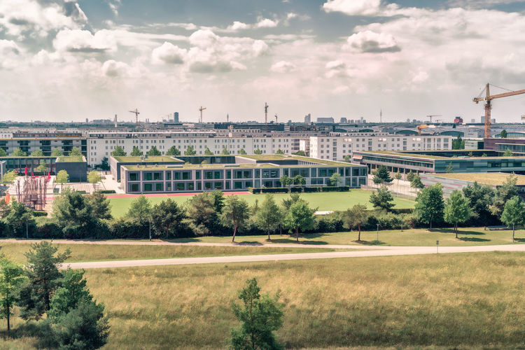 Big city views