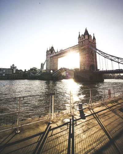 Tower bridge Travel Built Structure Architecture Travel Destinations Outdoors Bridge - Man Made Structure Sky City City Street Photography Exploring Sunlight Day Europe Travel Photography Lithuanian City Life London Building Exterior People Urban