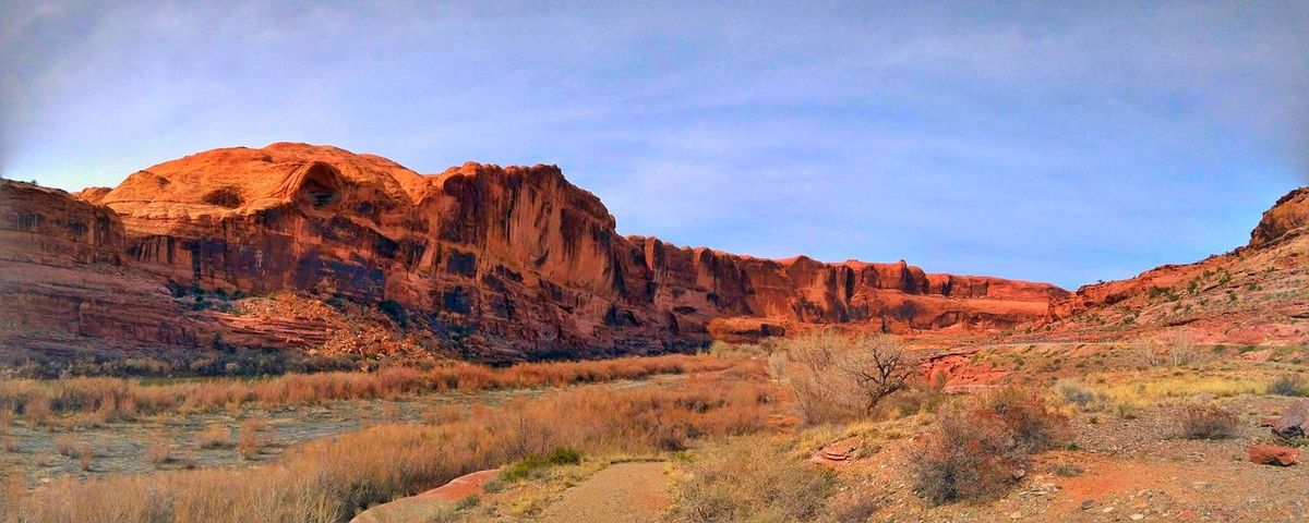 The Panoramic West ! Desert Plants Desert Photography Sandstone Cliffs Mountain Range Cloudy Sky Nature Sandstone Rock Formation Peaceful EyeEm Gallery Popular Photos Muti Colored Desert Multi Colored Red Sunset Rock - Object Sky Landscape Physical Geography Eroded Geology Rock Formation Sandstone