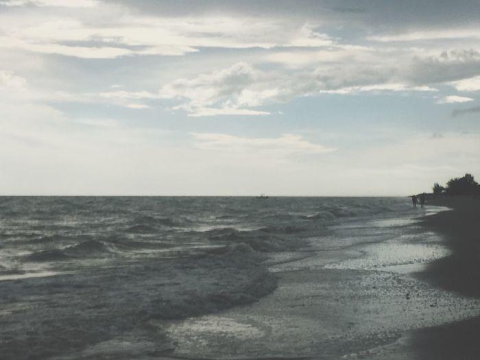Walking the beach on Sanibel Island Relaxing