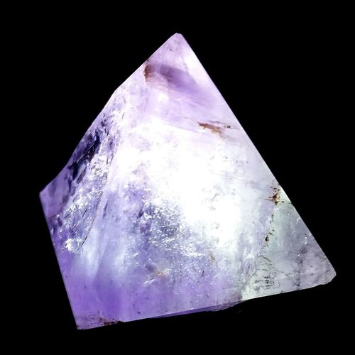 Amethyst Triangle 3rd Dimension Cracked A Missing Piece... Darkness And Light Interesting Amazement And Wonderment Check This Out Hello World